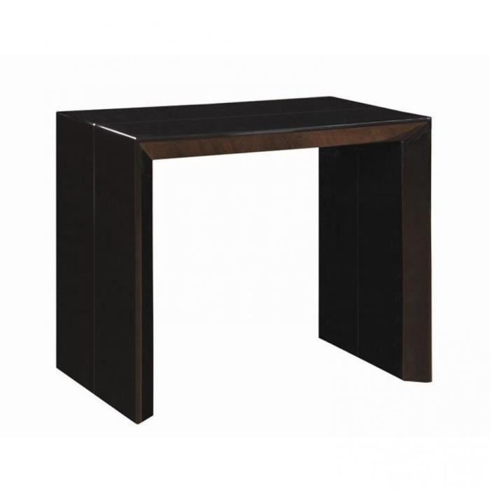 console extensible en table repas extenso delux achat vente console console extensible en. Black Bedroom Furniture Sets. Home Design Ideas
