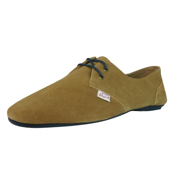 Penguin Fossil hommes Cuir Suede...