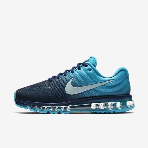nike air max 2017 baskets bleu