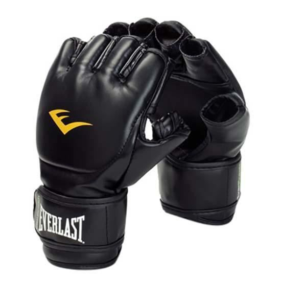 Protections Gants de combat Everlast Equipment Leather Grappling Gloves