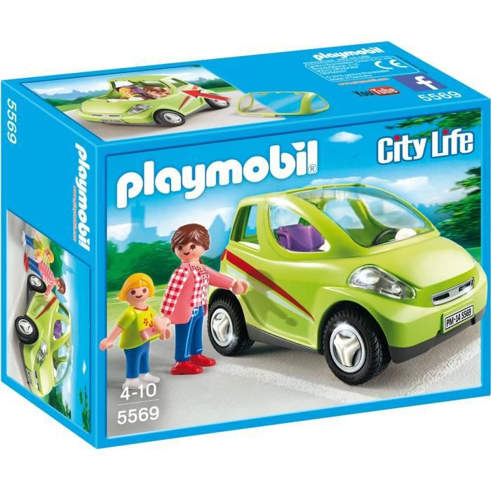 playmobil 5569 voiture de ville achat vente univers miniature cdiscount. Black Bedroom Furniture Sets. Home Design Ideas