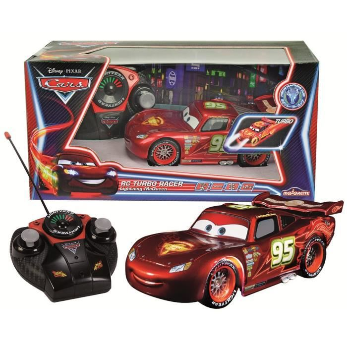 juniors radiocommande robot cars voiture radio commandee  mc queen neon f smo