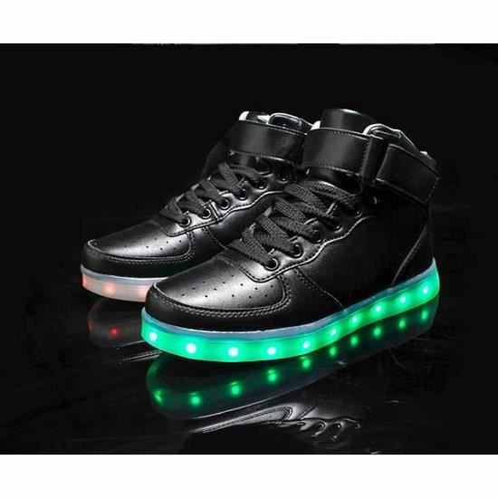 8 chaiging de LED de couleurs Fashion hommes ch...