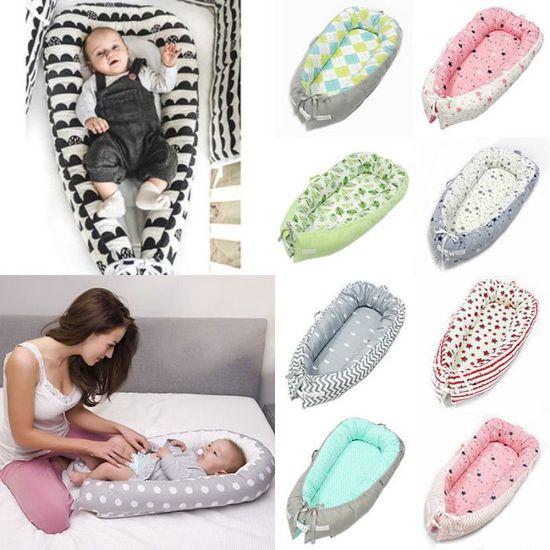 BABY NEST Pod Cocoon Coussin Lit Nourrisson dormir réversible le moins cher de haute qualité