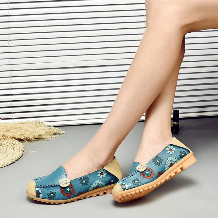 Chaussures des boats de Doug de Poids léger Bleu