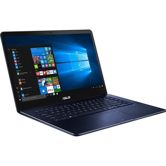 Asus pc portable ux550vd e3156t 156 uhd 16go de ram windows 10 intel core i7 7700hq nvidia gtx 1050 stockage 256 go ssd