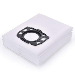 SAC ASPIRATEUR 6-Pack Karcher Polaire Sacs filtrants Remplacement