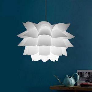 LUSTRE ET SUSPENSION Lustre Lotus Assemblée Plafond DIY Puzzle Lumières