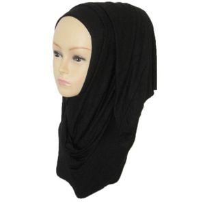 ECHARPE - FOULARD Femmes Coton Longue Foulard MusulHommes Hijab Arab