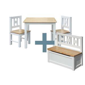 TABLE ET CHAISE IB - Style - Meubles enfants Luca | 3 combinaisons