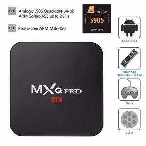 BOX MULTIMEDIA MXQ Pro Smart TV Box Android 5.1 TV BOX Amlogic S9