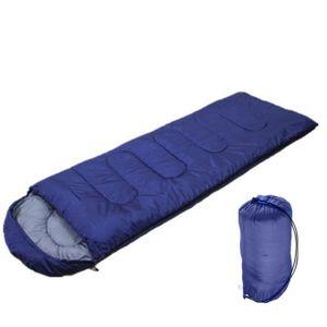 SAC DE COUCHAGE Sac de couchage Camping en plein air Adulte - bleu