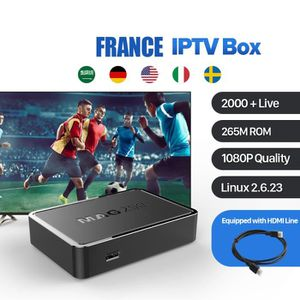 BOX MULTIMEDIA MAG 250 IPTV Box Avec 1 Year IUDTV IPTV Compte USB