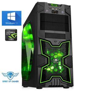 UNITÉ CENTRALE  Ordinateur Pc Gamer X-Fighters Army AMD Ryzen 5 16