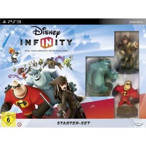 JEU PS3 DISNEY INFINITY - STARTER SET [IMPORT ALLEMAND]…