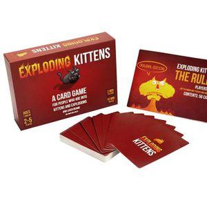 MALLETTE MULTI-JEUX Jeux de cartes jeu de société - Exploding Kittens