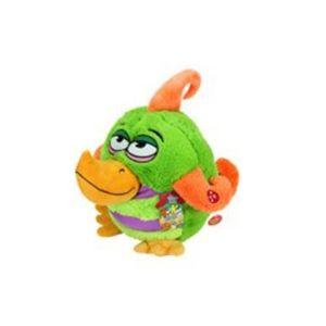 PELUCHE Peluche sonore Kookoo Birds – vert/orange