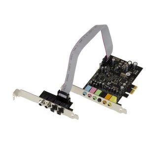 CARTE CONTROLEUR Carte Contrôleur PCIe (PCI Express) - Son 7.1 CANA