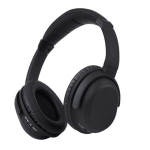 CASQUE - ÉCOUTEURS Casque Bluetooth, Marsee actif antibruit Over-The-
