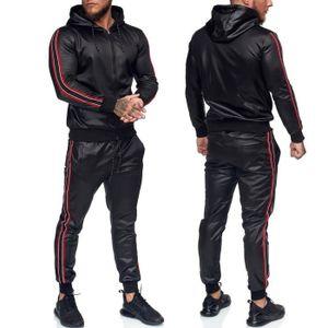 Ensemble de vêtements Ensemble jogging pour homme Survêt 1188 noir
