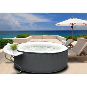 jacuzzi exterieur achat vente jacuzzi exterieur pas cher cdiscount. Black Bedroom Furniture Sets. Home Design Ideas