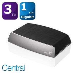 SERVEUR STOCKAGE - NAS  Seagate  3To Central NAS disque réseau