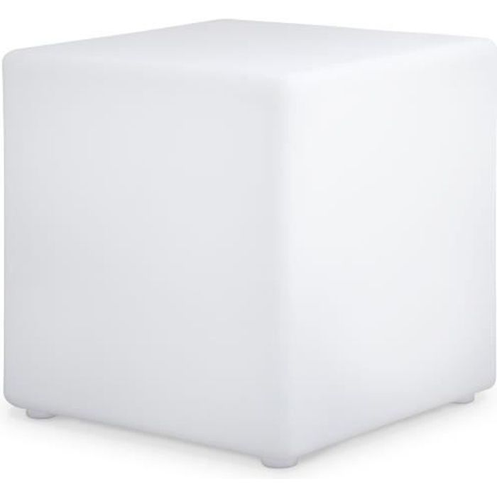 Cube lumineux LED 40cm 16 couleurs résistant à …