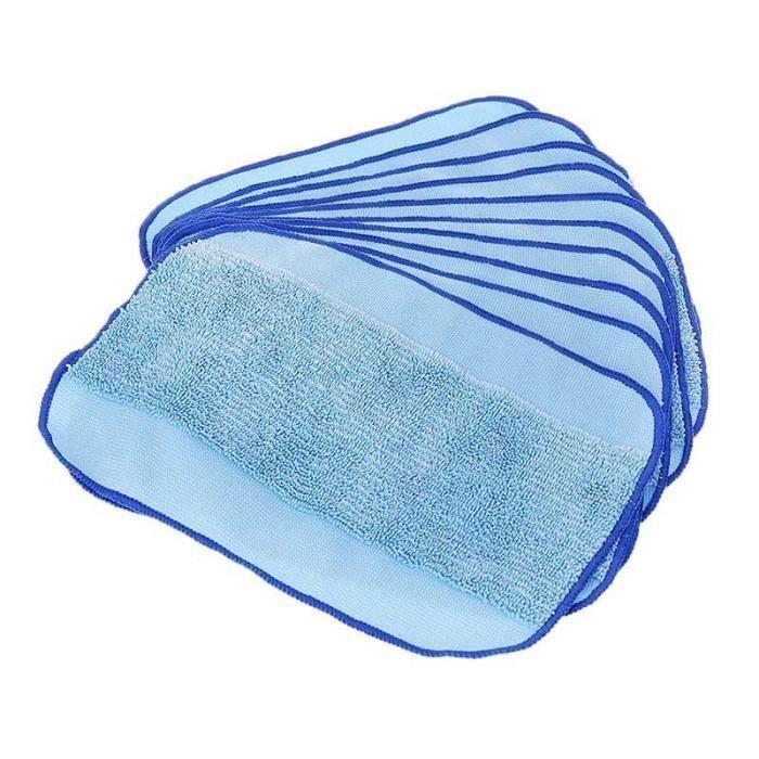 10pcs Lingettes nettoyantes Pro-Clean pour iRobot Braava Minit 4200 5200 5200C 380 380t SCB80