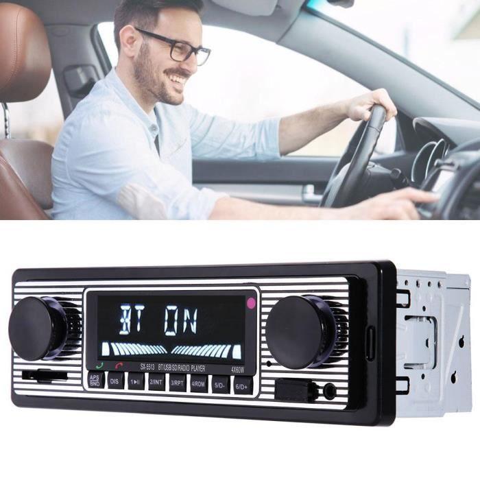 SX-5513 Lecteur mp3 Bluetooth voiture stéréo audio radio véhicule simple din