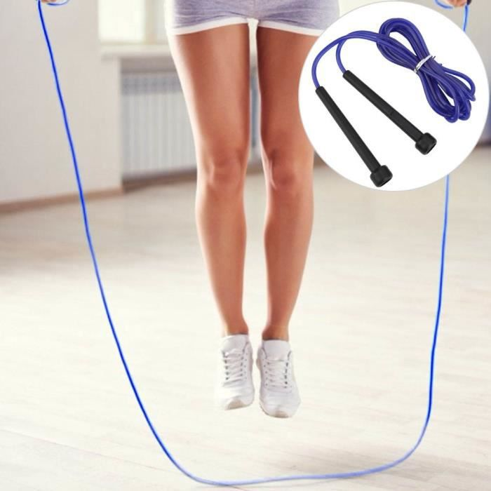 Corde à sauter, 4PCS PVC Crystal Transparent Student Training Special Skipping Rope Sports Supplies