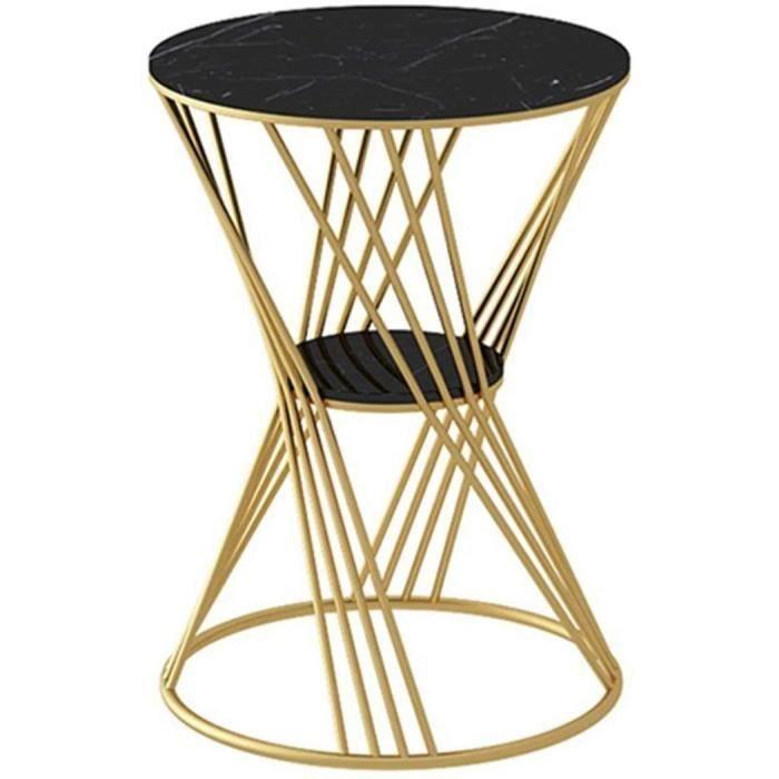 Table Basse De Canapé- Petite Table De Rangement De Salon D'appartement D'appartement Table Basse D'intérieur De Support De Fl[234]