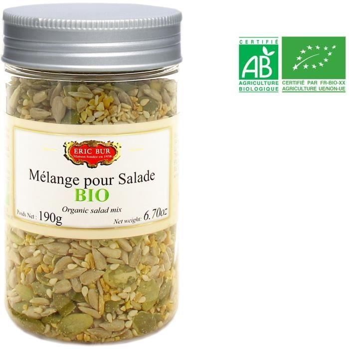 ERIC BUR Mélange pour Salade Bio - 190 g