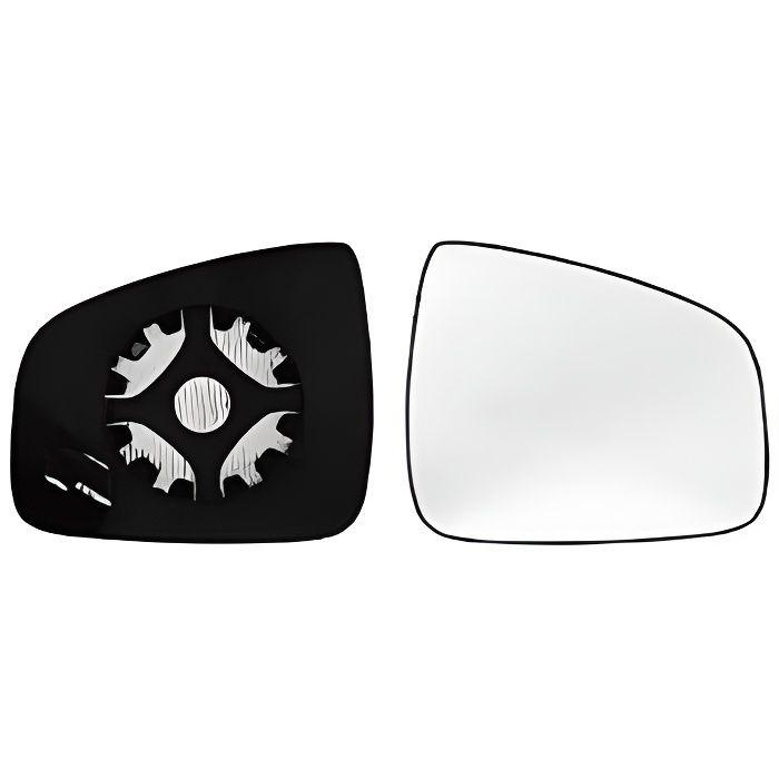 Miroir Glace rétroviseur droit DACIA DUSTER I phase 2, 2013-2017, dégivrant, à clipser, Neuf.
