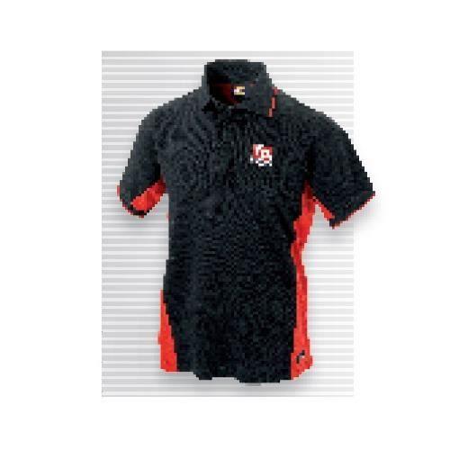 Facom - Polo bicolore noir/rouge 100% coton taille XL - VP.POLOBLK-XLPB