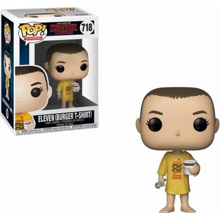 Figurine Funko Pop! Stranger Things: Eleven (Burger T-Shirt)