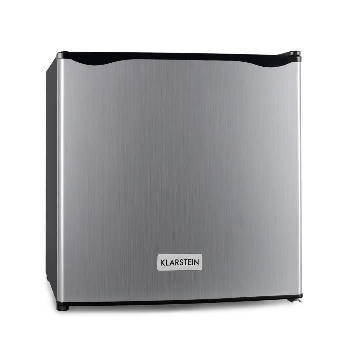 Klarstein Garfield - Congélateur compact de 35L 4 étoiles (65W, Classe A+, -18 à -24 °C) - argent