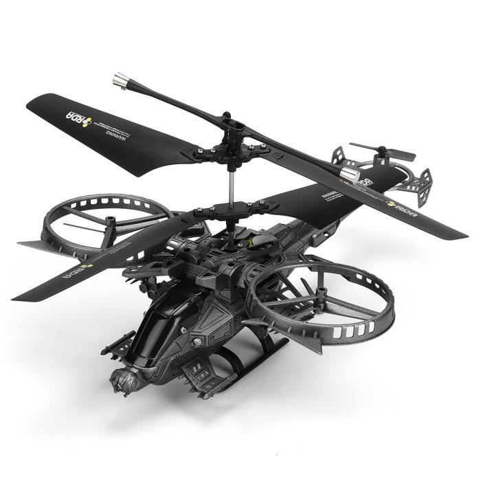 OSPREY YD-713 Hélicoptère IR 3.5 Channels LED RC Avion Quadcopter Drone Jouet