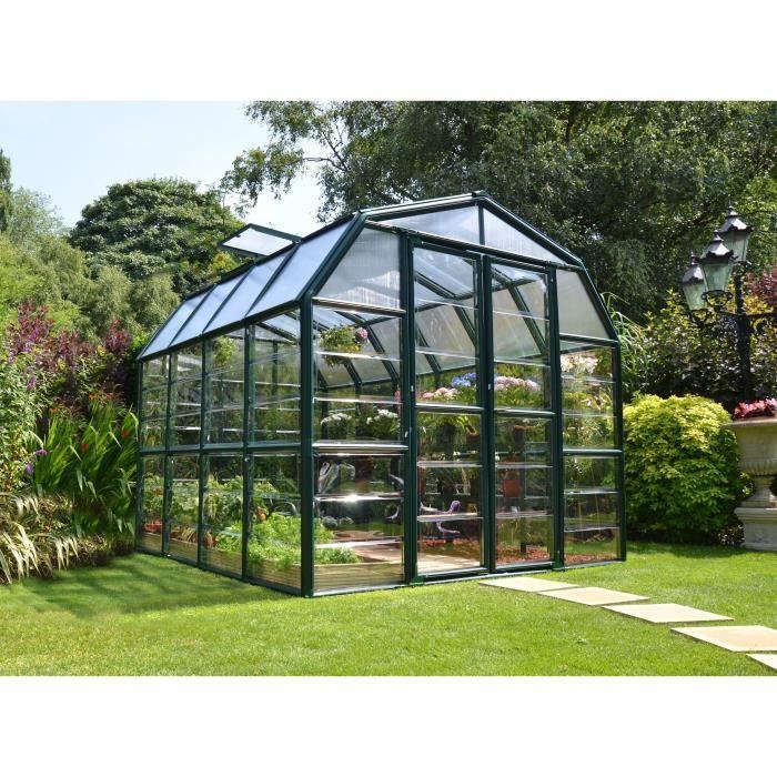 PALRAM Serre de jardin Grand Gardener 6,8 m² - Aluminium et polycarbonate