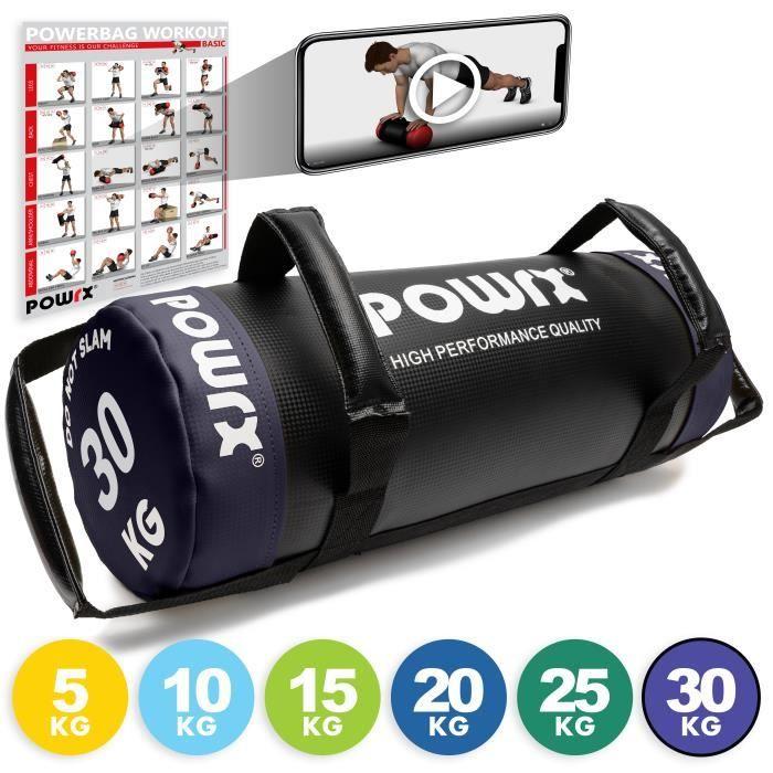 HPQ Power Bag différents poids et couleurs Poids: 30 kg