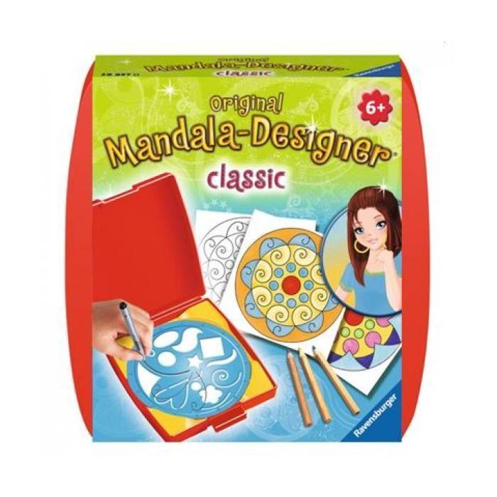 Mini Mandala Designer Classic aille Unique Coloris Unique