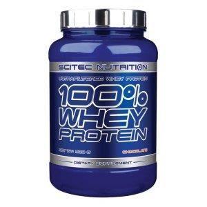 100% Whey Protein -vanille- 920gr