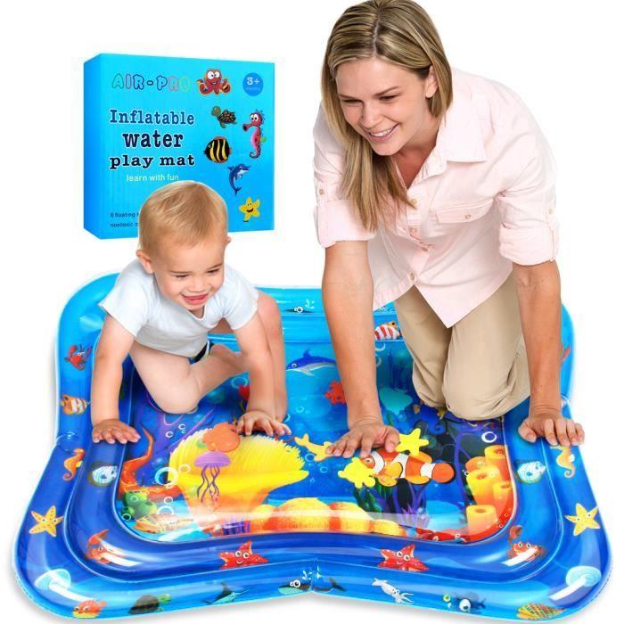 Stillcool® 100*80CM Tapis d'eau Matelas gonflable jouet enfant bébé éducatif océan atoll