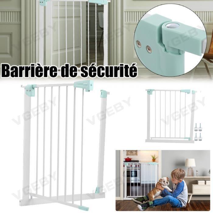 Barriere de Securite porte et escalier pour enfants et animaux - Métal - VGEBY ABI
