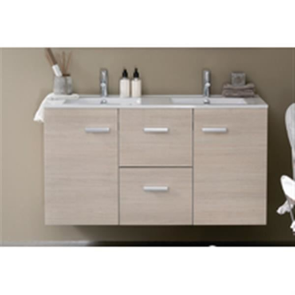 alterna meuble 2 portes 2 tiroirs 120 cm woodstock laqu blanc r f 112070011 achat vente. Black Bedroom Furniture Sets. Home Design Ideas