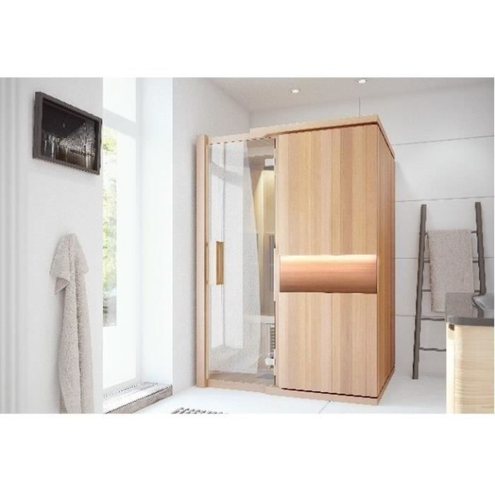 stockholm sauna infrarouge 2 personnes achat vente kit sauna stockholm sauna infrarouge. Black Bedroom Furniture Sets. Home Design Ideas