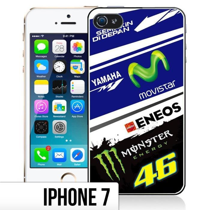 coque iphone 7 yamaha m1 rossi