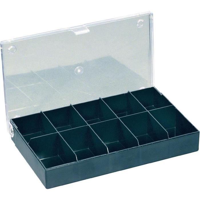 Boite De Rangement Avec 10 Compartiments Achat Vente Boite A Compartiment Boite De Rangement Avec 10 Cdiscount