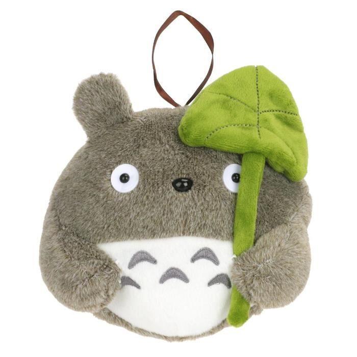 PELUCHE CoolChange peluche de Totoro avec feuille de Lotus