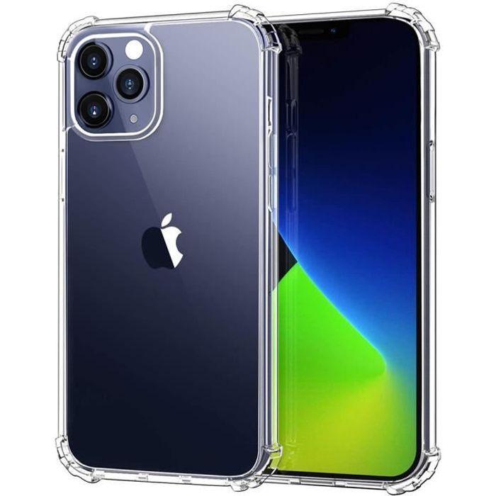 Coque Silicone iPhone 12 Mini Coque Renforcée Transparente Antichoc
