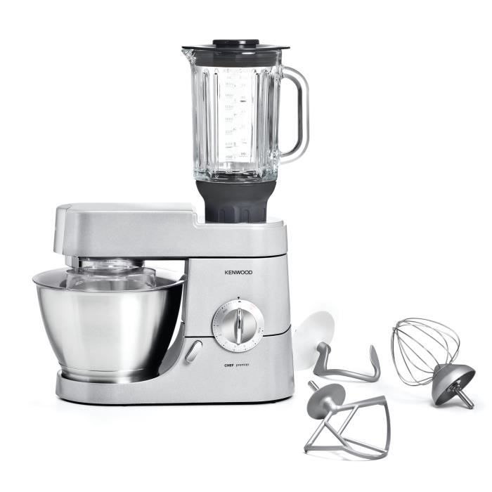 Kenwood kmc570 robot p tissier chef premier inox achat for Robot kenwood cooking chef prix